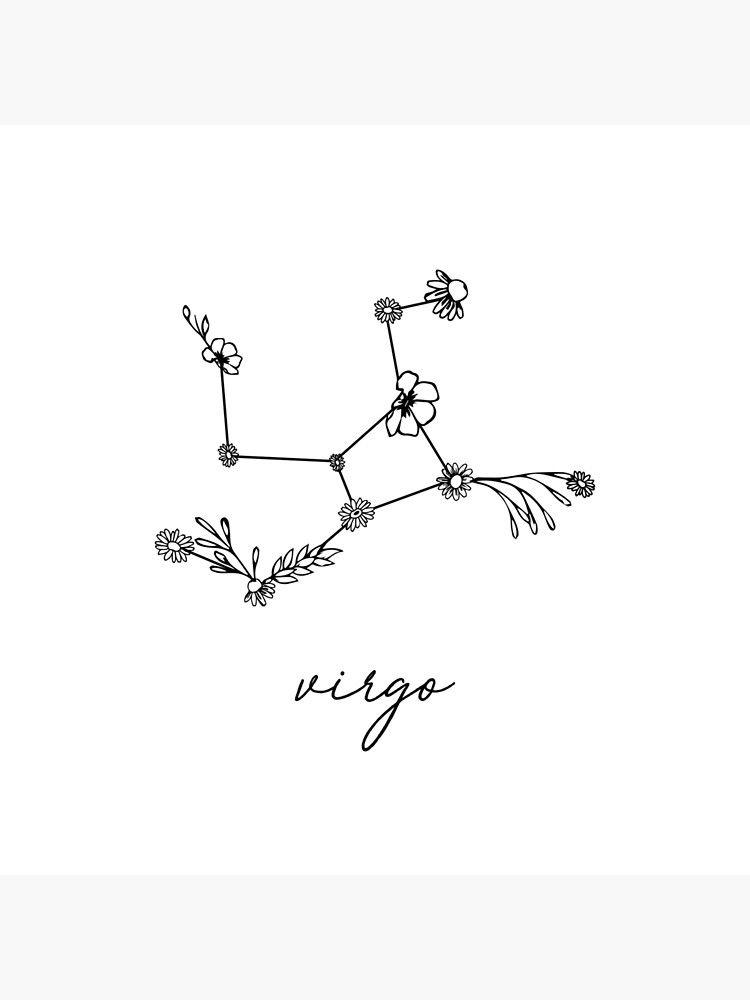 Virgo Zodiac Horoscope Tattoo Designs (19)