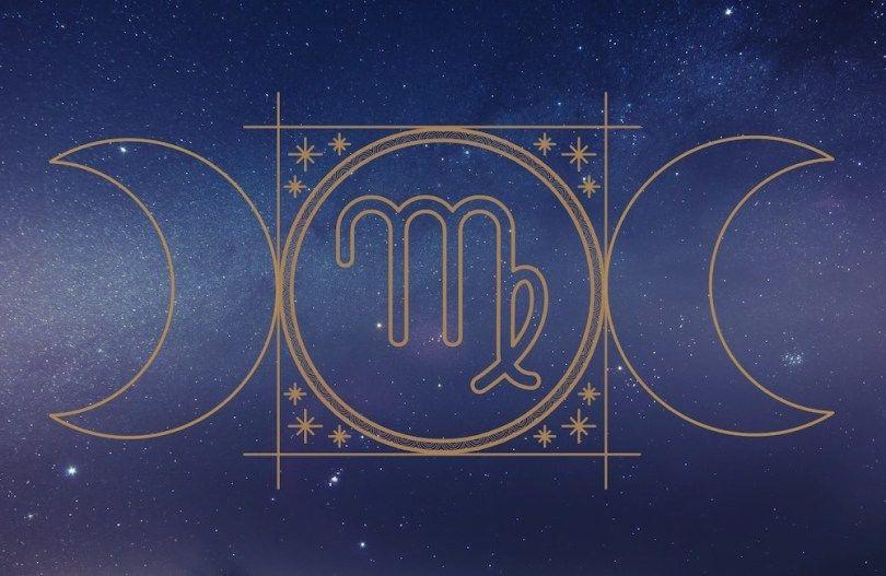Virgo Zodiac Horoscope Tattoo Designs (191)