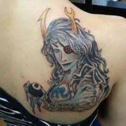 Virgo Zodiac Horoscope Tattoo Designs (204)