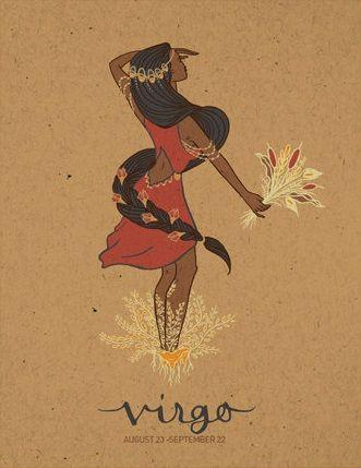 Virgo Zodiac Horoscope Tattoo Designs (3)