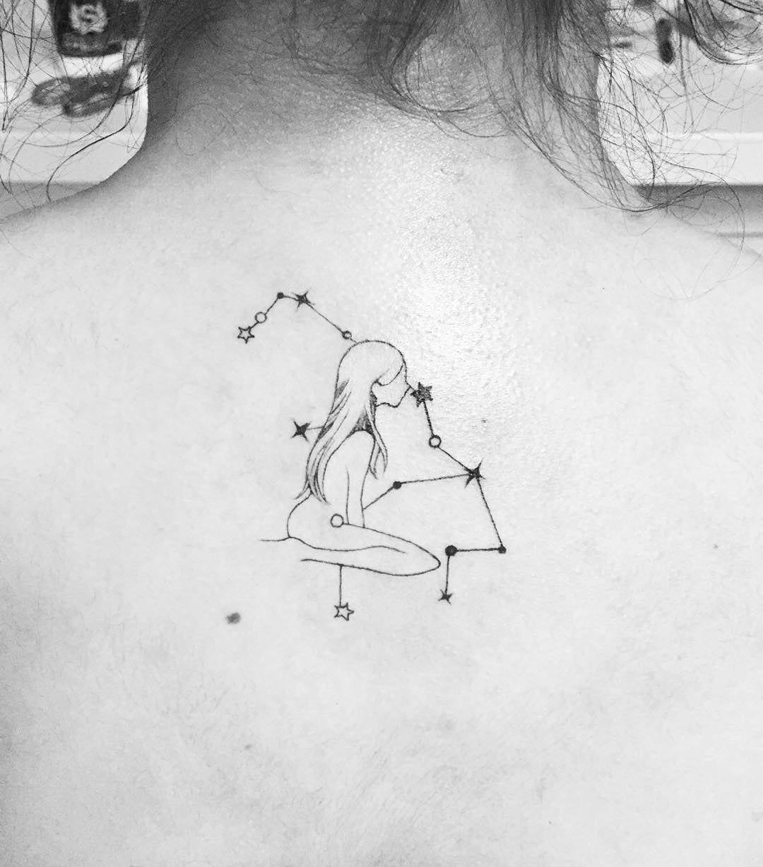 Virgo Zodiac Horoscope Tattoo Designs (7)