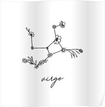Virgo Zodiac Horoscope Tattoo Designs (84)
