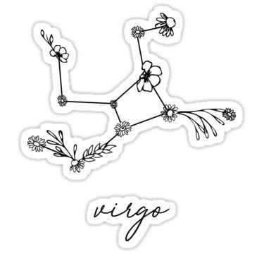 Virgo Zodiac Horoscope Tattoo Designs (87)