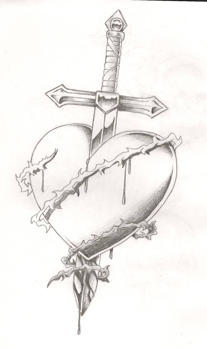 Broken Heart Tattoo Design Meaning (107)