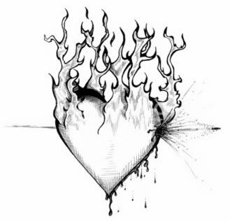 Broken Heart Tattoo Design Meaning (124)