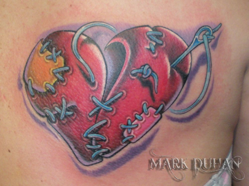 Broken Heart Tattoo Design Meaning (136)