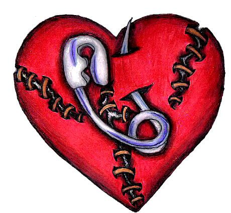 Broken Heart Tattoo Design Meaning (137)