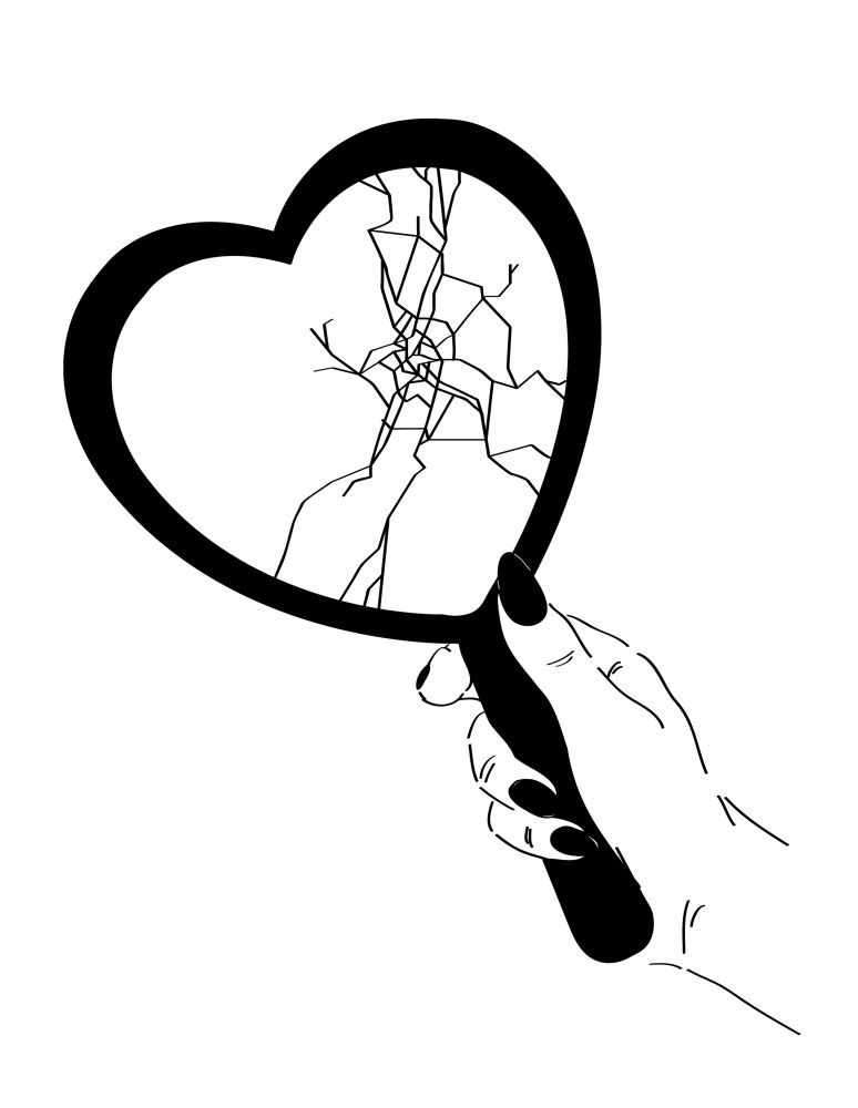 Broken Heart Tattoo Design Meaning (145)