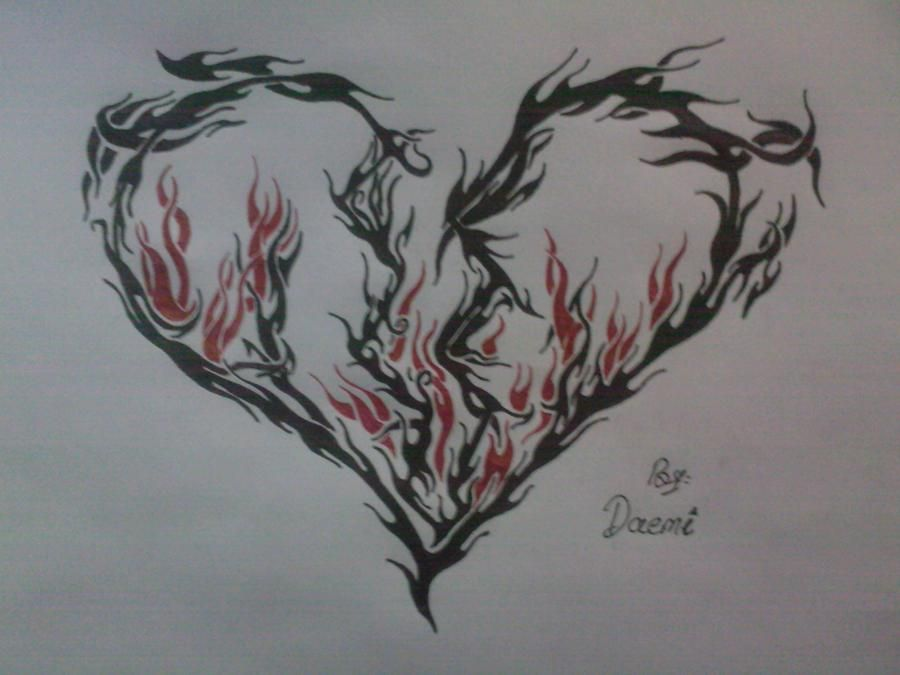 Broken Heart Tattoo Design Meaning (150)