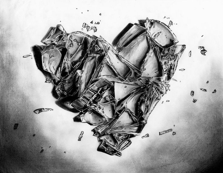 Broken Heart Tattoo Design Meaning (162)