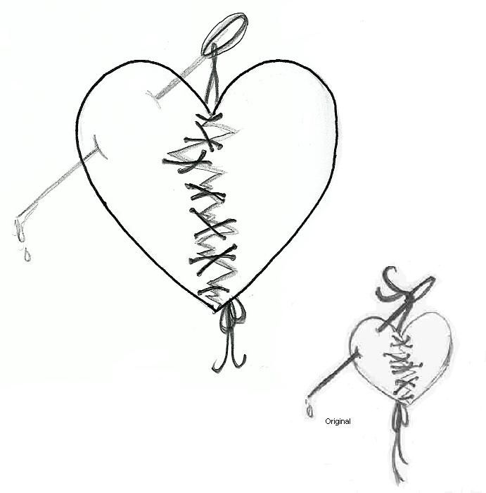Broken Heart Tattoo Design Meaning (164)