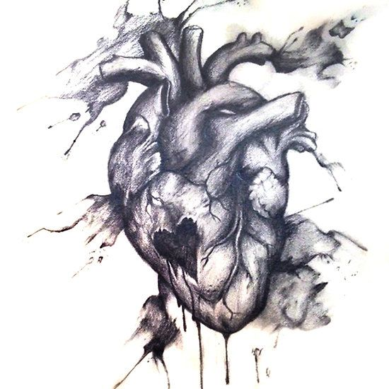Broken Heart Tattoo Design Meaning (165)