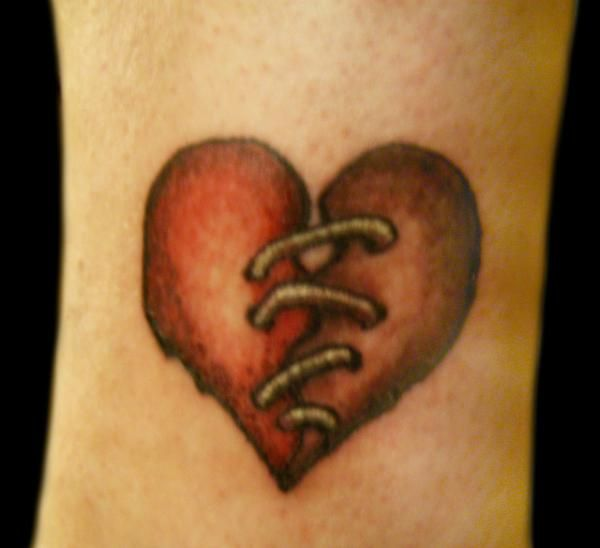 Broken Heart Tattoo Design Meaning (169)