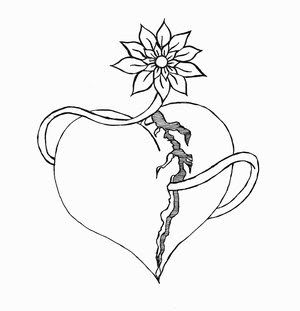Broken Heart Tattoo Design Meaning (19)