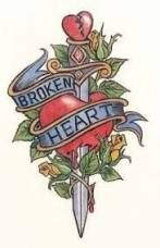 Broken Heart Tattoo Design Meaning (203)