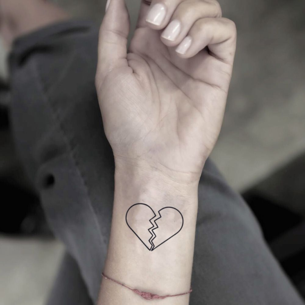 Broken Heart Tattoo Design Meaning (21)
