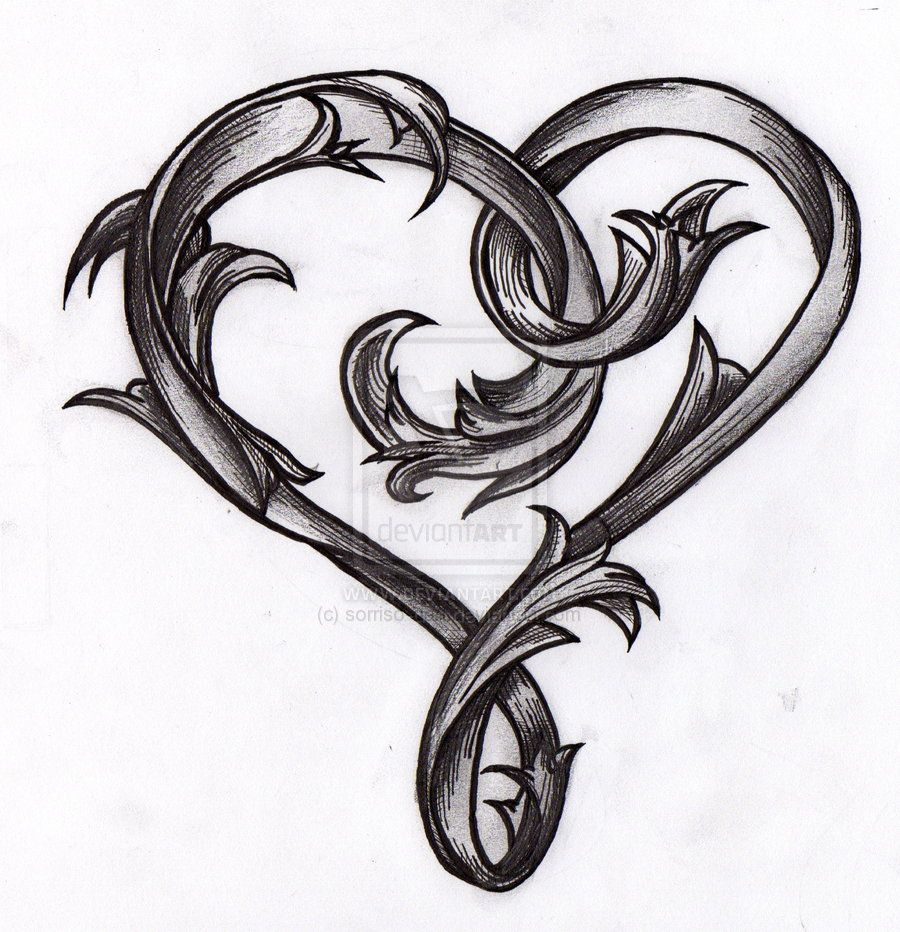 Broken Heart Tattoo Design Meaning (221)