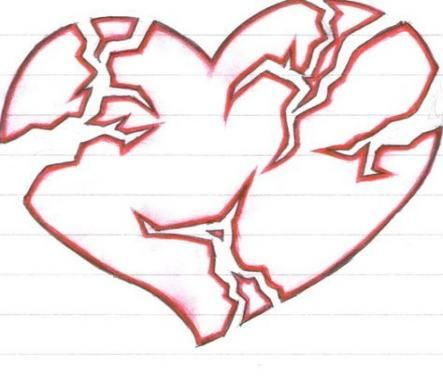 Broken Heart Tattoo Design Meaning (223)