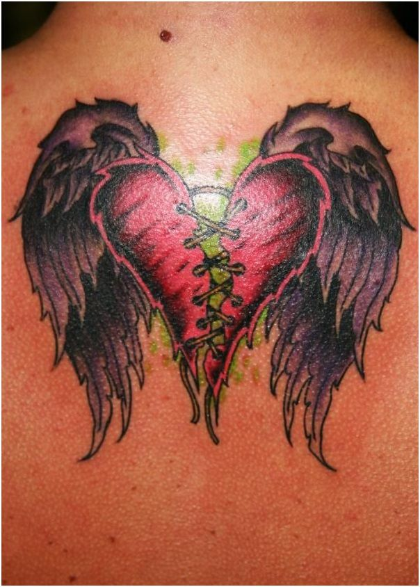 Broken Heart Tattoo Design Meaning (226)