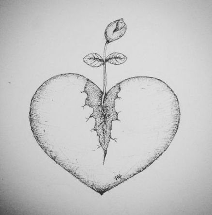 Broken Heart Tattoo Design Meaning (31)