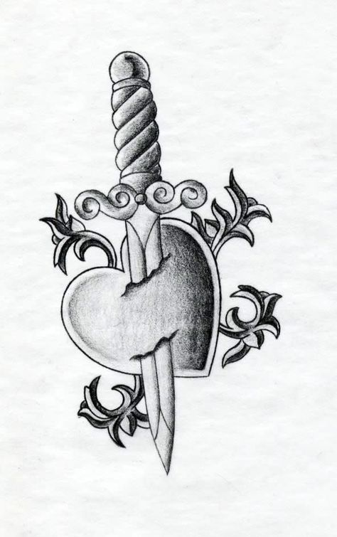 Broken Heart Tattoo Design Meaning (36)