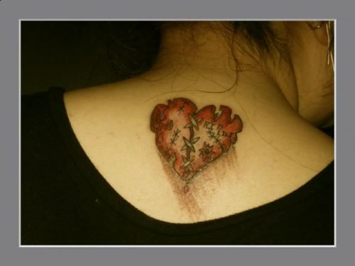 Broken Heart Tattoo Design Meaning (39)