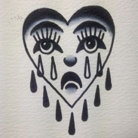 Broken Heart Tattoo Design Meaning (44)