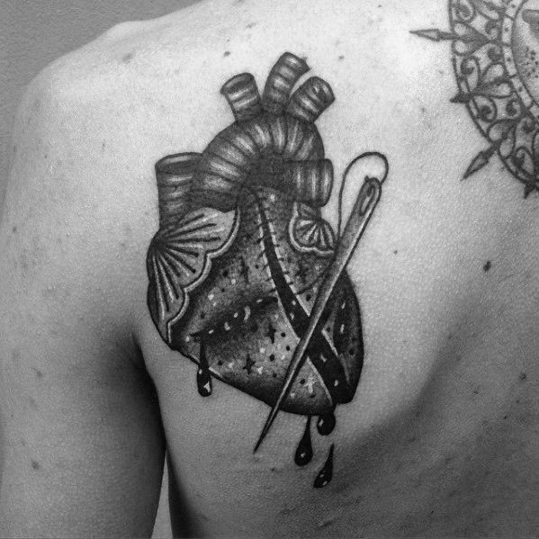 Broken Heart Tattoo Design Meaning (45)