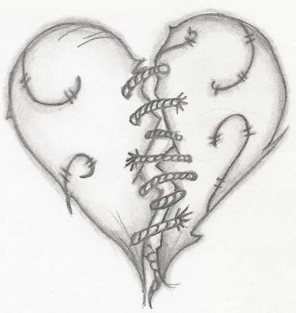 Broken Heart Tattoo Design Meaning (52)
