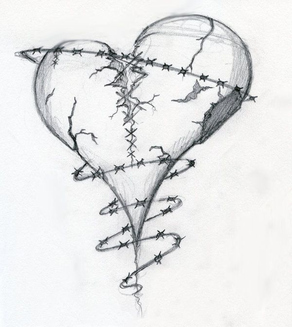 Broken Heart Tattoo Design Meaning (74)