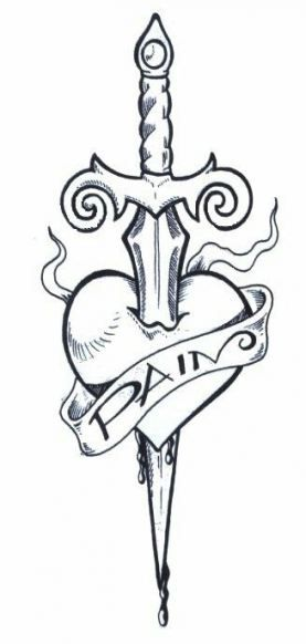 Broken Heart Tattoo Design Meaning (87)