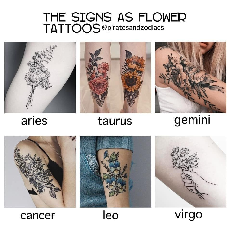 Leo Zodiac Horoscope Sign Symbol Tattoo Designs (101)
