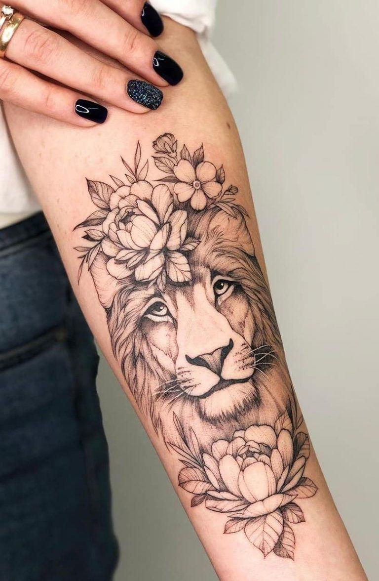 Leo Zodiac Horoscope Sign Symbol Tattoo Designs (111)