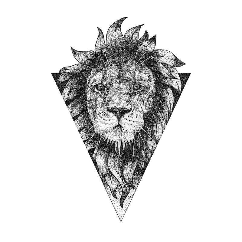 Leo Zodiac Horoscope Sign Symbol Tattoo Designs (124)