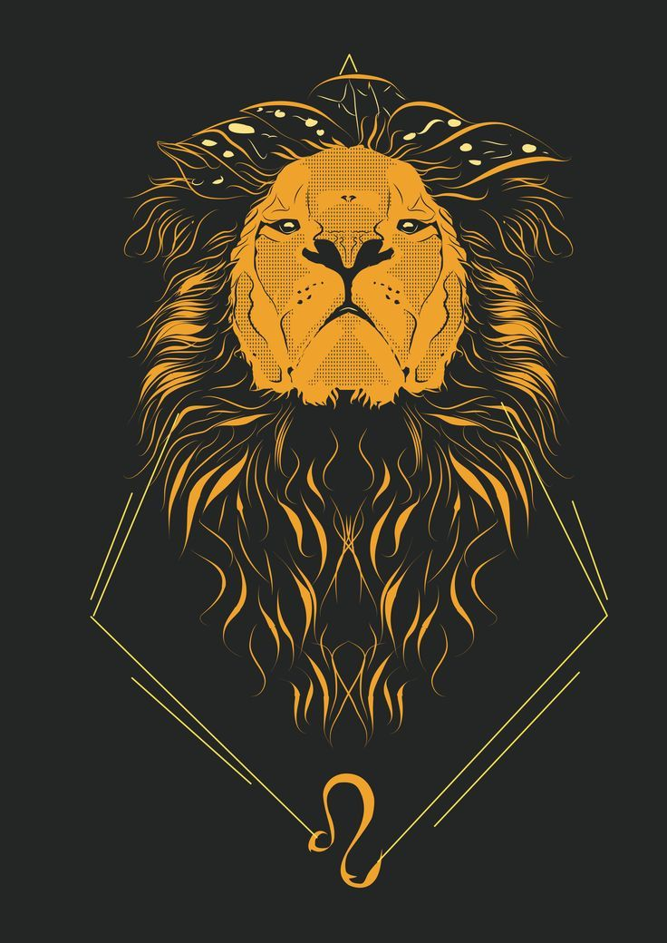 Leo Zodiac Horoscope Sign Symbol Tattoo Designs (125)