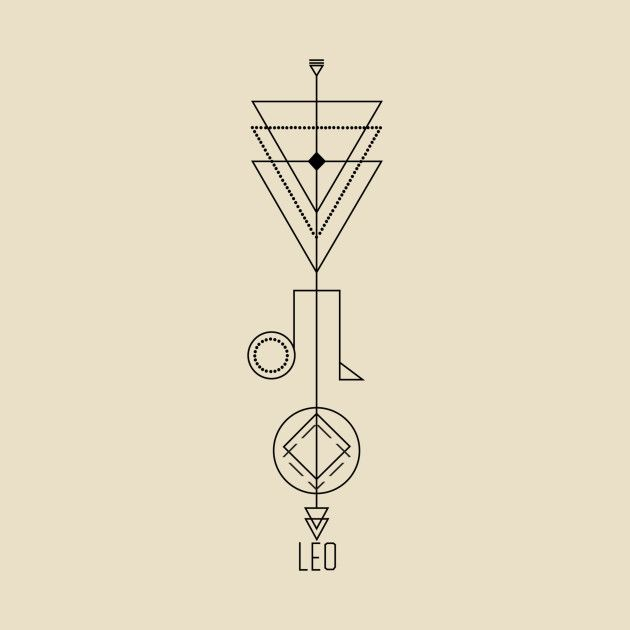 Leo Zodiac Horoscope Sign Symbol Tattoo Designs (140)