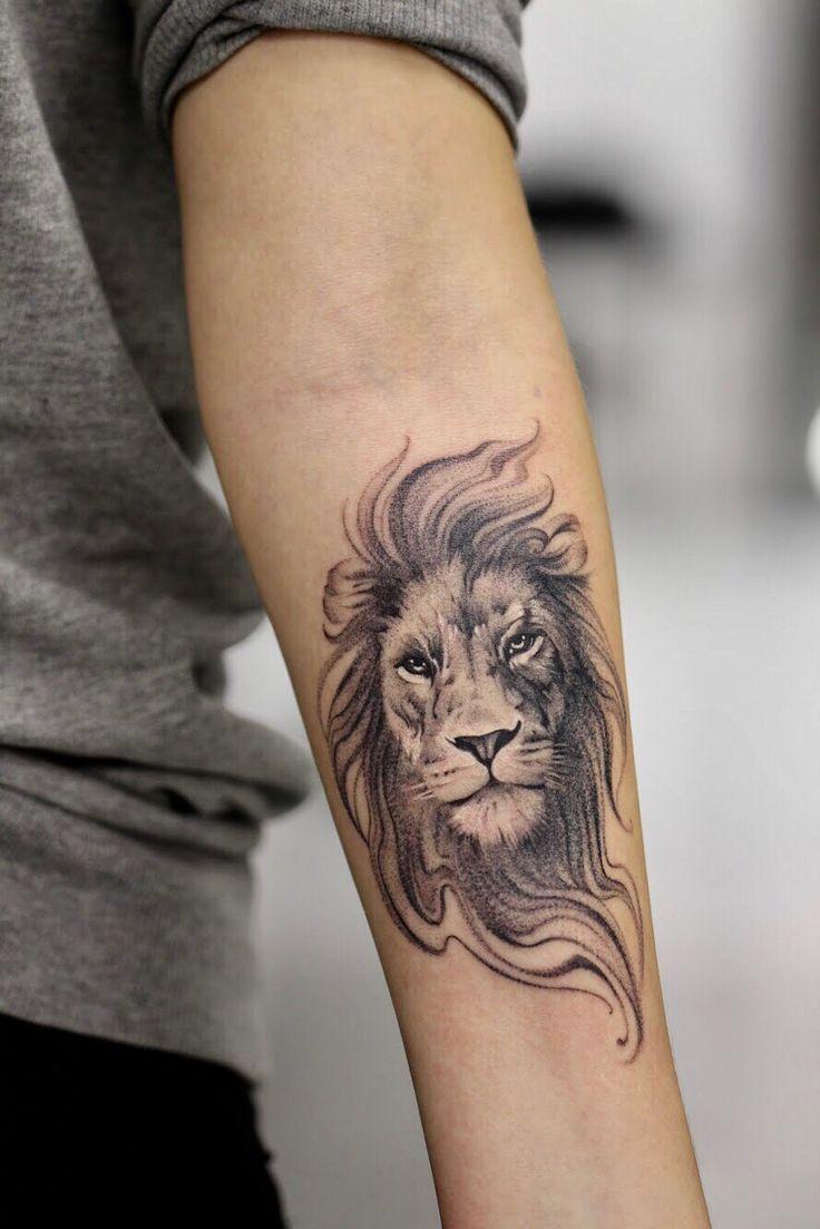 Leo Zodiac Horoscope Sign Symbol Tattoo Designs (15)