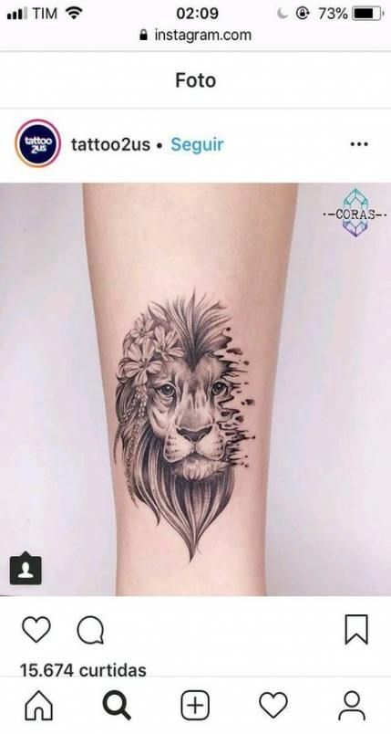 Leo Zodiac Horoscope Sign Symbol Tattoo Designs (150)