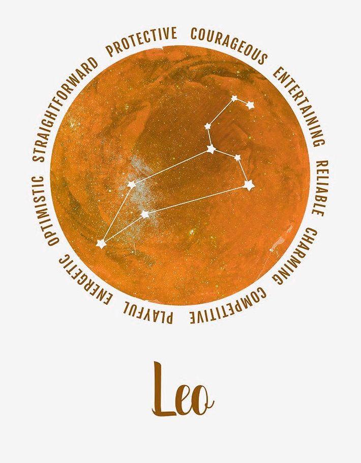 Leo Zodiac Horoscope Sign Symbol Tattoo Designs (153)