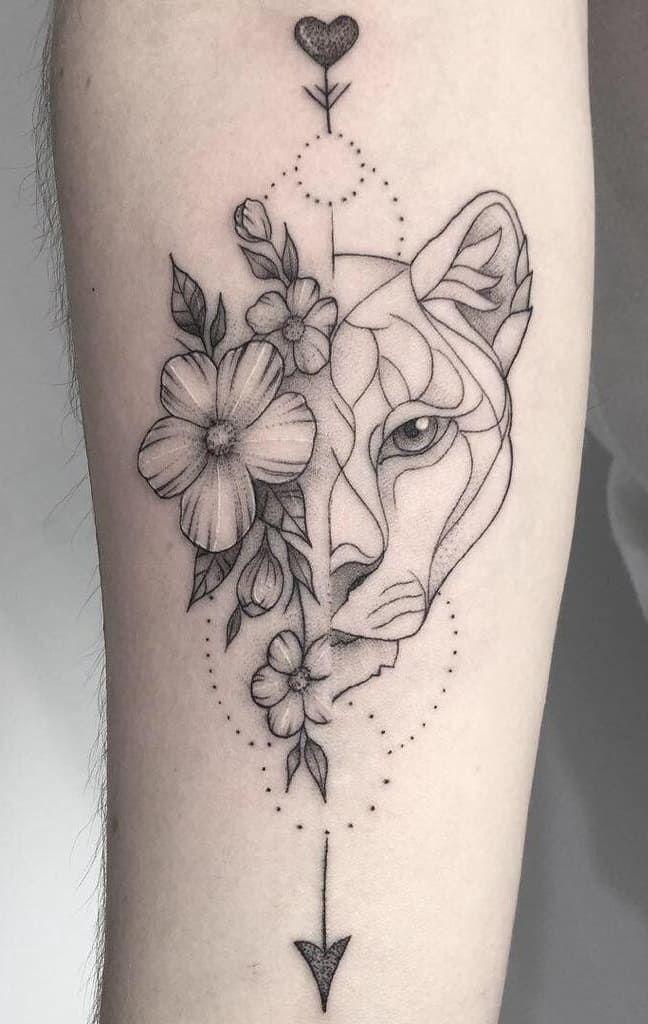 Leo Zodiac Horoscope Sign Symbol Tattoo Designs (155)