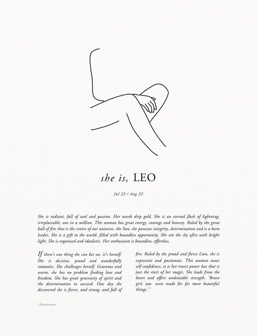 Leo Zodiac Horoscope Sign Symbol Tattoo Designs (173)