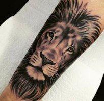 Leo Zodiac Horoscope Sign Symbol Tattoo Designs (181)