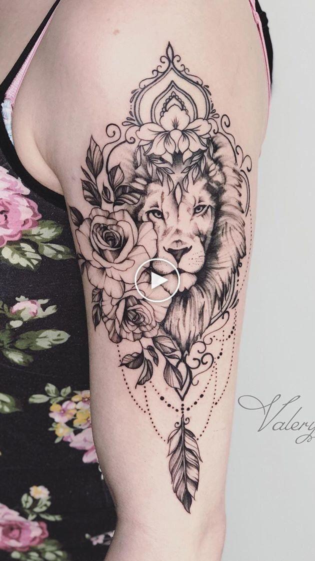 Leo Zodiac Horoscope Sign Symbol Tattoo Designs (201)