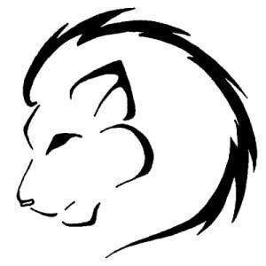 Leo Zodiac Horoscope Sign Symbol Tattoo Designs (219)