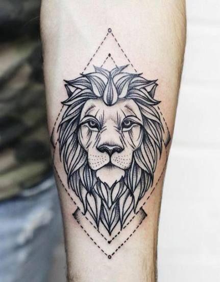 Leo Zodiac Horoscope Sign Symbol Tattoo Designs (223)