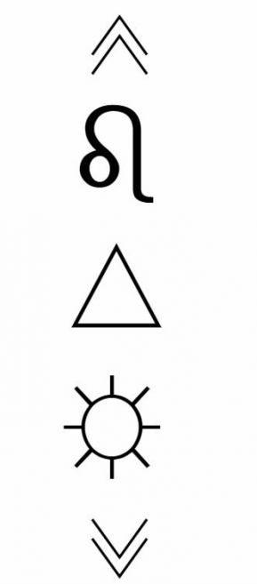 Leo Zodiac Horoscope Sign Symbol Tattoo Designs (24)