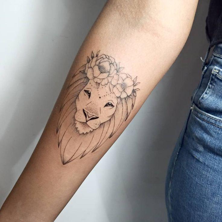 Leo Zodiac Horoscope Sign Symbol Tattoo Designs (26)