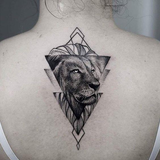 Leo Zodiac Horoscope Sign Symbol Tattoo Designs (30)