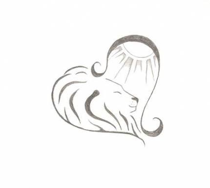 Leo Zodiac Horoscope Sign Symbol Tattoo Designs (35)