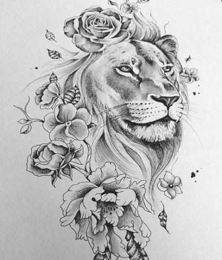 Leo Zodiac Horoscope Sign Symbol Tattoo Designs (66)